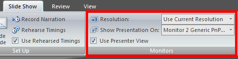 Presenter viewer for sales presentations