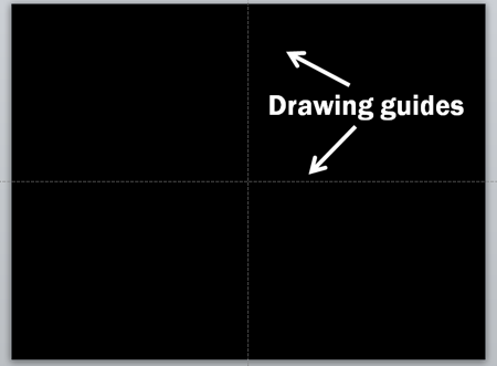 Drawing guides - Powerpoint 2010
